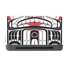 Ethnic Traditional Art Memory Card Reader with CF