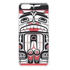 Ethnic Traditional Art Apple iPhone 5 Seamless Case (White)