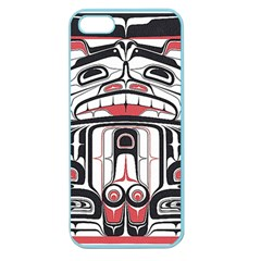 Ethnic Traditional Art Apple Seamless iPhone 5 Case (Color)