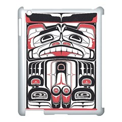 Ethnic Traditional Art Apple iPad 3/4 Case (White)