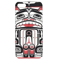 Ethnic Traditional Art Apple iPhone 5 Hardshell Case with Stand