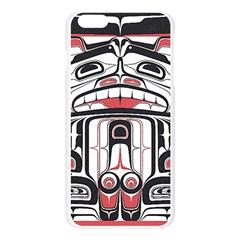 Ethnic Traditional Art Apple Seamless iPhone 6 Plus/6S Plus Case (Transparent)