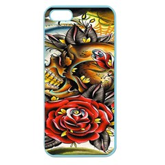 Flower Art Traditional Apple Seamless iPhone 5 Case (Color)