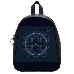 Minimalistic Knowledge Mathematics Trigonometry School Bags (Small)