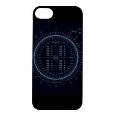 Minimalistic Knowledge Mathematics Trigonometry Apple iPhone 5S/ SE Hardshell Case