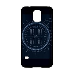 Minimalistic Knowledge Mathematics Trigonometry Samsung Galaxy S5 Hardshell Case