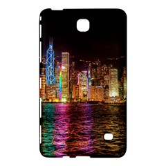 Light Water Cityscapes Night Multicolor Hong Kong Nightlights Samsung Galaxy Tab 4 (7 ) Hardshell Case