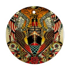 Hail Fine Art Print Ornament (Round)