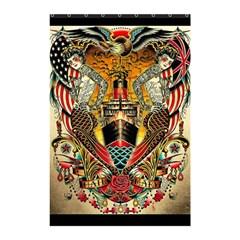 Hail Fine Art Print Shower Curtain 48  x 72  (Small)