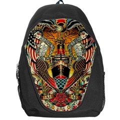 Hail Fine Art Print Backpack Bag