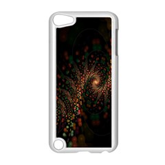 Multicolor Fractals Digital Art Design Apple iPod Touch 5 Case (White)
