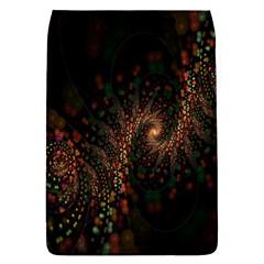 Multicolor Fractals Digital Art Design Flap Covers (l)
