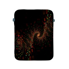 Multicolor Fractals Digital Art Design Apple Ipad 2/3/4 Protective Soft Cases