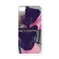 Lil Hiedi Pic Apple iPhone 4 Case (White)