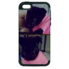 Lil Hiedi Pic Apple iPhone 5 Hardshell Case (PC+Silicone)