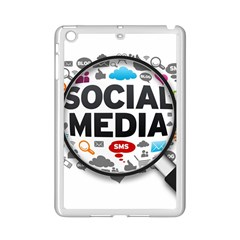 Social Media Computer Internet Typography Text Poster iPad Mini 2 Enamel Coated Cases