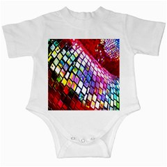 Multicolor Wall Mosaic Infant Creepers