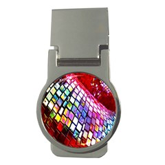 Multicolor Wall Mosaic Money Clips (Round)