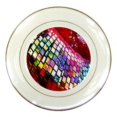 Multicolor Wall Mosaic Porcelain Plates