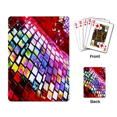 Multicolor Wall Mosaic Playing Card