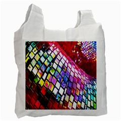 Multicolor Wall Mosaic Recycle Bag (One Side)