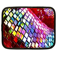 Multicolor Wall Mosaic Netbook Case (XXL)