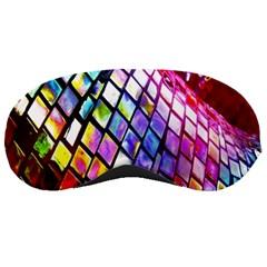 Multicolor Wall Mosaic Sleeping Masks