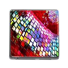 Multicolor Wall Mosaic Memory Card Reader (square)