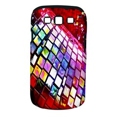 Multicolor Wall Mosaic Samsung Galaxy S III Classic Hardshell Case (PC+Silicone)