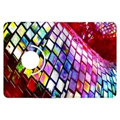 Multicolor Wall Mosaic Kindle Fire HDX Flip 360 Case
