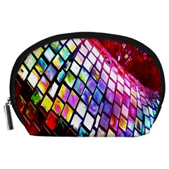 Multicolor Wall Mosaic Accessory Pouches (large)