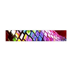 Multicolor Wall Mosaic Flano Scarf (Mini)