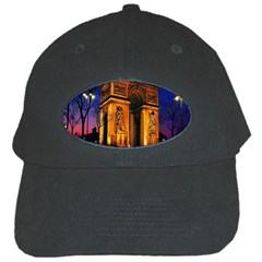 Paris Cityscapes Lights Multicolor France Black Cap