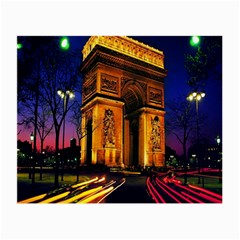 Paris Cityscapes Lights Multicolor France Small Glasses Cloth (2-Side)