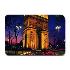 Paris Cityscapes Lights Multicolor France Plate Mats
