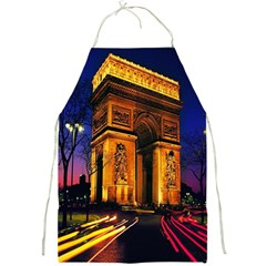 Paris Cityscapes Lights Multicolor France Full Print Aprons