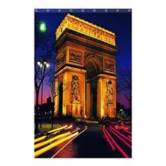 Paris Cityscapes Lights Multicolor France Shower Curtain 48  x 72  (Small)