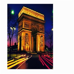 Paris Cityscapes Lights Multicolor France Large Garden Flag (two Sides)