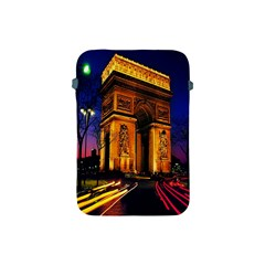 Paris Cityscapes Lights Multicolor France Apple iPad Mini Protective Soft Cases