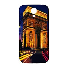Paris Cityscapes Lights Multicolor France Samsung Galaxy S4 I9500/i9505  Hardshell Back Case
