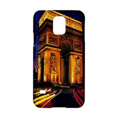 Paris Cityscapes Lights Multicolor France Samsung Galaxy S5 Hardshell Case