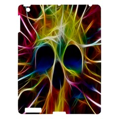 Skulls Multicolor Fractalius Colors Colorful Apple iPad 3/4 Hardshell Case