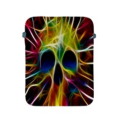 Skulls Multicolor Fractalius Colors Colorful Apple iPad 2/3/4 Protective Soft Cases