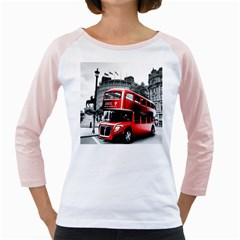 London Bus Girly Raglans