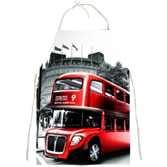 London Bus Full Print Aprons