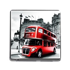 London Bus Memory Card Reader (square)