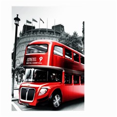 London Bus Small Garden Flag (two Sides)