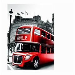 London Bus Large Garden Flag (two Sides)