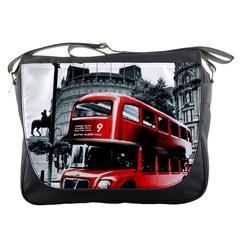 London Bus Messenger Bags