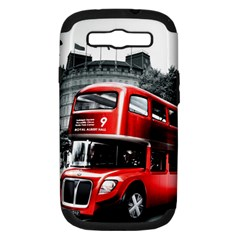London Bus Samsung Galaxy S III Hardshell Case (PC+Silicone)